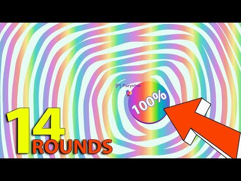Paper.io 3 © First World Record 14 Rounds Longest Line With Direct Control Map 100%