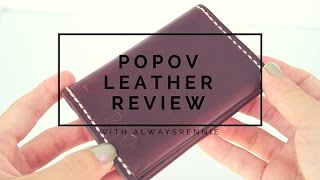 Popov Leather Review ♦ Minimalistic Wallets
