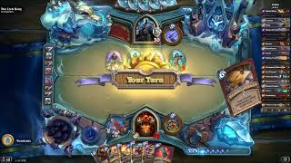 Hearthstone KFT: Warrior vs Arthas FAIL Reel