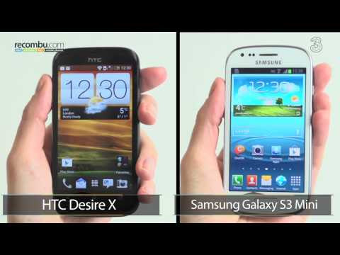 HTC Desire X VS Samsung Galaxy S3 Mini