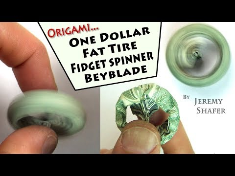 One Dollar Fat Tire Fidget Spinner Beyblade