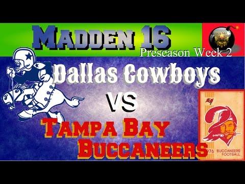 COWBOYS VS BUCCANEERS! Madden 16 Let