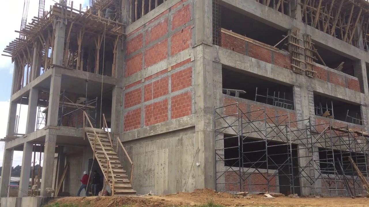 avances de los edificios para carrera de arquitectura