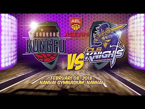 Chongson Kungfu VS CLS Knights Indonesia   ABL 2017 - 2018