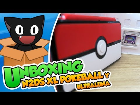¡Aqui caben todos los Pokémon! Unboxing: New 2DS XL Pokéball y Pokémon UltraLuna