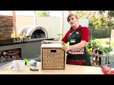 D.I.Y. Wooden Storage Box - D.I.Y. at Bunnings