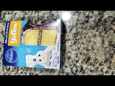 Pillsbury Moist Supreme Yellow Cake