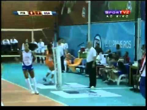 Superliga 09/10 Pinheiros/Mackenzie x Sollys/Osasco 2° SEMI