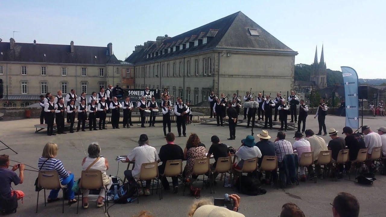 Nantes Quimper bagad de nantes - quimper 2014 - youtube