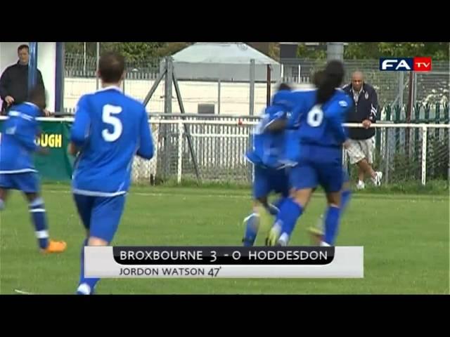 Broxbourne Borough V&E 4-0 Hoddesdon Town | The FA Cup Extra Preliminary Round 2011/2012