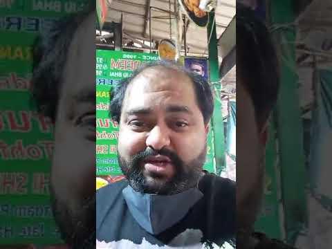 Download Pista Badam Kaju Kesar Desi Ghee Soaked Mouthwatering Sheermaal of Haji Nadeem @ Jama Masjid, Delhi.