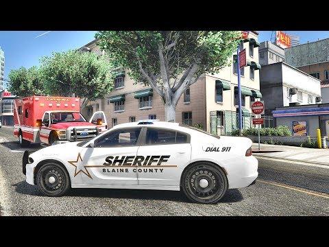GTA 5 MODS LSPDFR 840 - CITY SHERIFF PATROL!!! (GTA 5 REAL LIFE PC MOD)