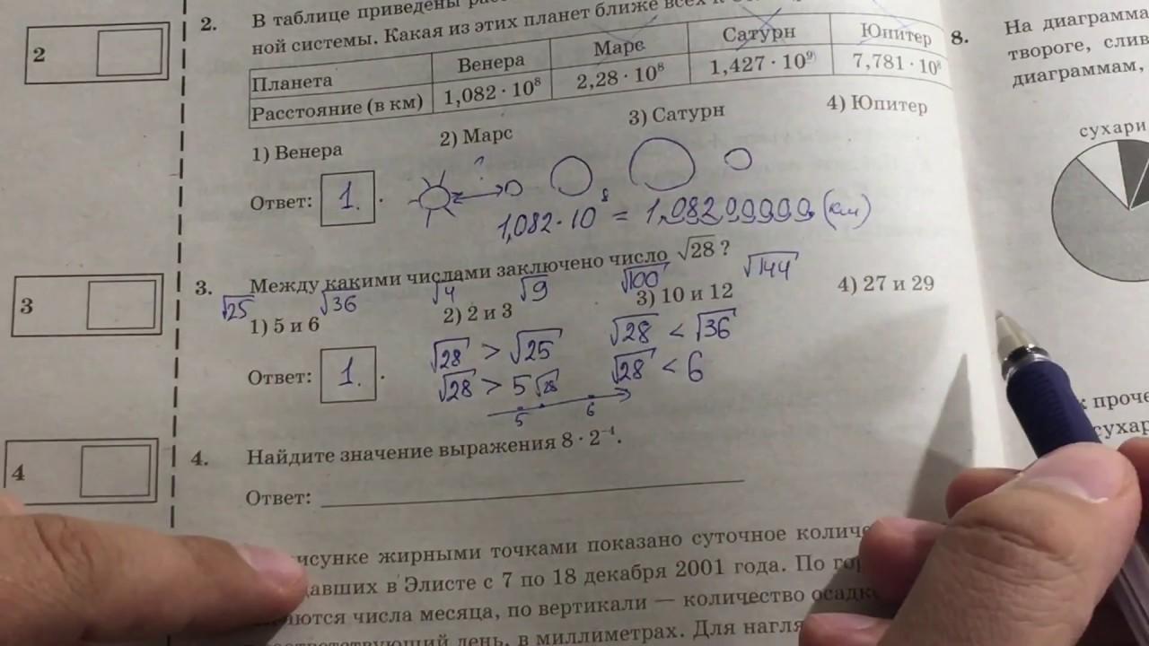 36 математике гдз ященко решение 9 вариантов по класс огэ