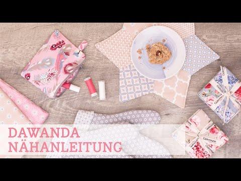 DaWanda Nähanleitung: 3 schnelle Geschenke für Weihnachten nähen
