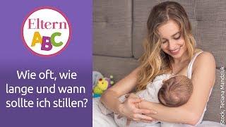 Stillen: Wie oft? Wie lange? Wann? | Baby | Eltern ABC | ELTERN