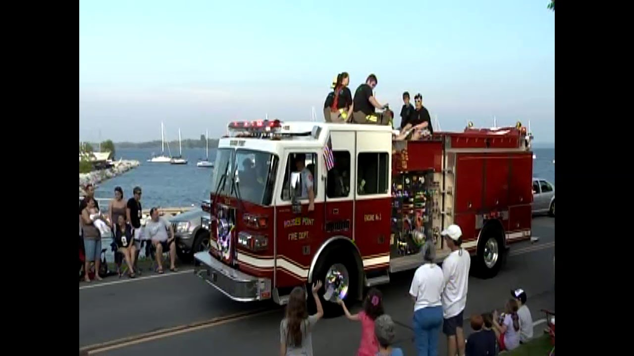 Rouses Point Parade  7-3-11