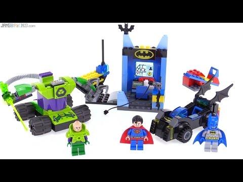 LEGO Juniors Batman & Superman vs Lex Luthor review! 10724