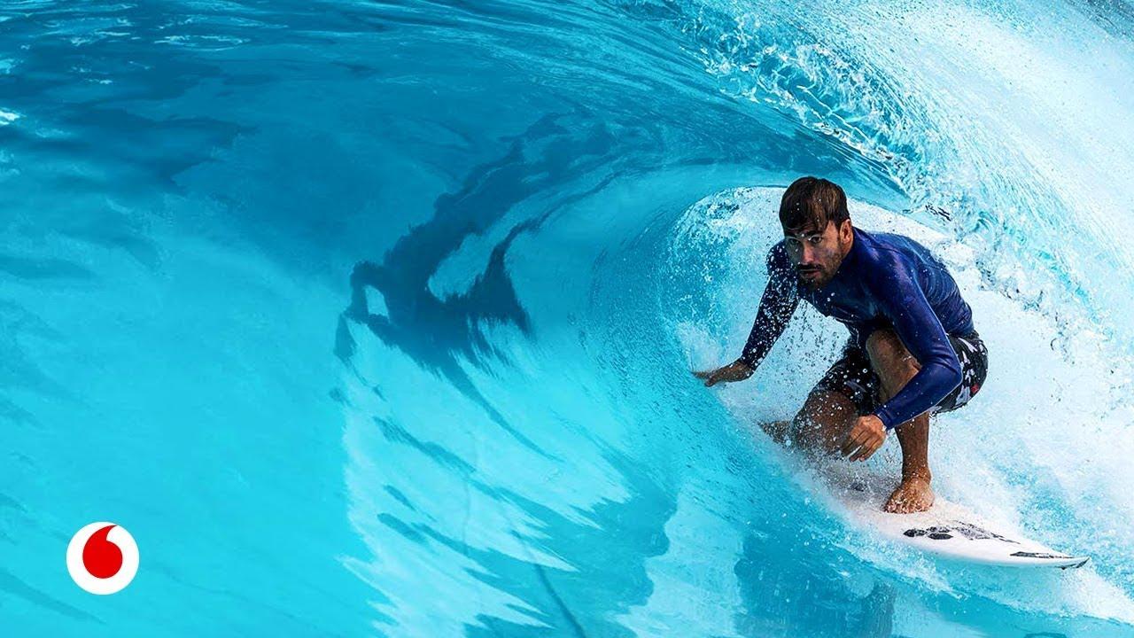Olas artificiales de dos metros para surfear en las montañas vascas