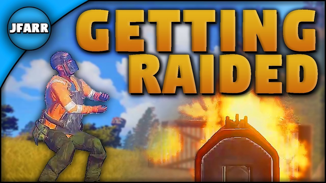 how to avoid getting raided in rust