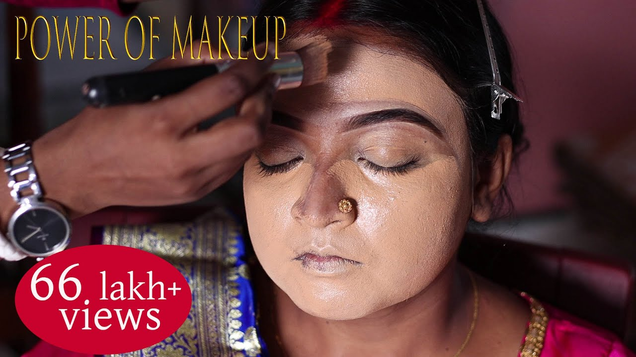 Step by step Makeup tutorial With Advance hairstyle/ Professional bridal Makeup/ Reception Makeup