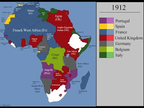 the european colonization of africa