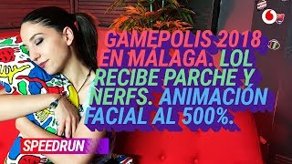 #Speedrun 19/07: Gamepolis en Málaga y la muerte del cursor del LOL