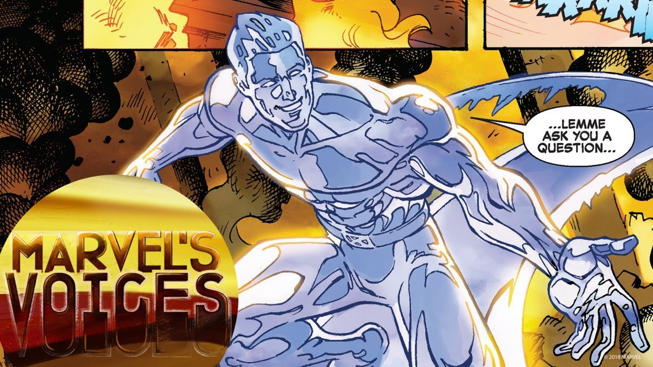 Iceman's Cool New Series!   Marvel's Voices Shoutout