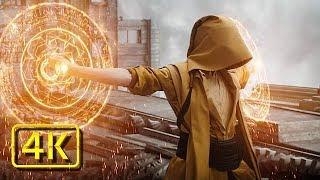 Kaecilius vs The Ancient | Doctor Strange Español Latino (2016) 4K (Ultra-HD)