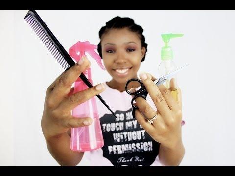 How To Do Black Girls Hair? White People Doing Black Hair!