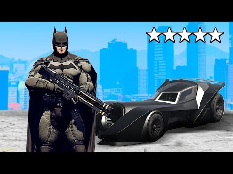 Playing GTA 5 AS BATMAN!