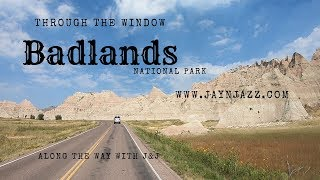 🏞Badlands National Park - Through the Window - Driving in the Badlands - South Dakota🚘