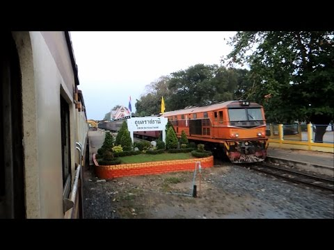 บันทึกการเดินทางรถไฟไทย ขบวนรถเร็วที่ 135 กรุงเทพ - อุบลราชธานี Rapid Train No.135 Bangkok - Ubon
