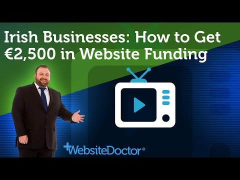 Irish Businesses: How to Get €2,500 in Website Grant Funding - Trading Online Voucher Scheme