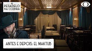 Confira a transformação no El Maktub