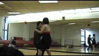 Stuyvesant Ballroom Dancing: Leo and Betsy (Tango)