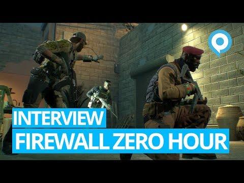 Gamescom 2018 - Firewall Zero Hour - Interview (ENG)