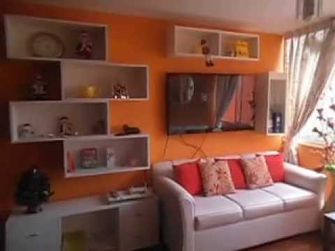 Casa bonita muebles de sala en melamine youtube for Muebles casas