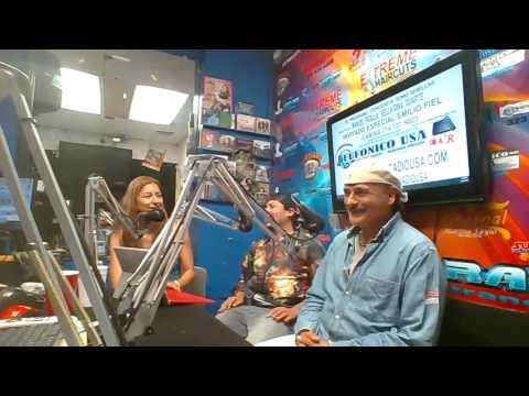 entrevista de radio con emilio fiel por eufonico radio usa
