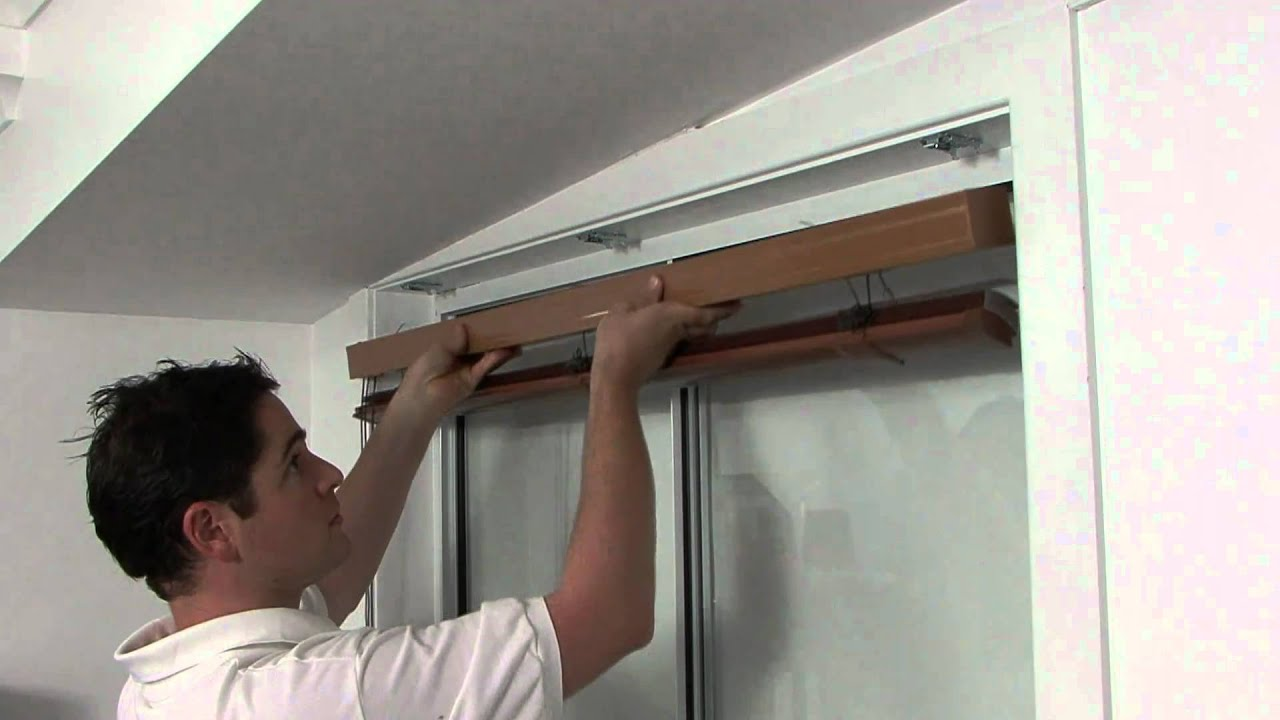 How To Install 50mm Aluminium Venetian Blinds Youtube