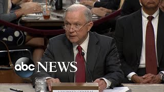 Jeff Sessions' opening remarks Free HD Video