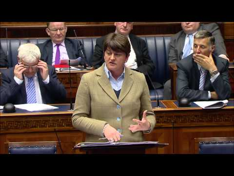 Question Time: Finance and Personnel Tuesday 12 May 2015