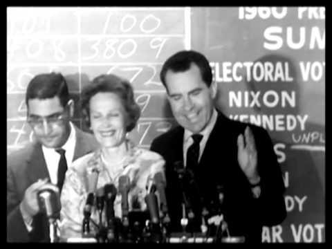 Nixon concession speech, JFK Victory statement 1960