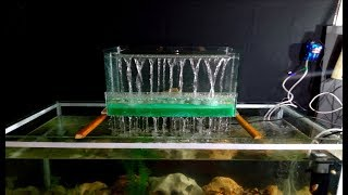 How to make Fountain Filter for Aquarium very easy / DIY