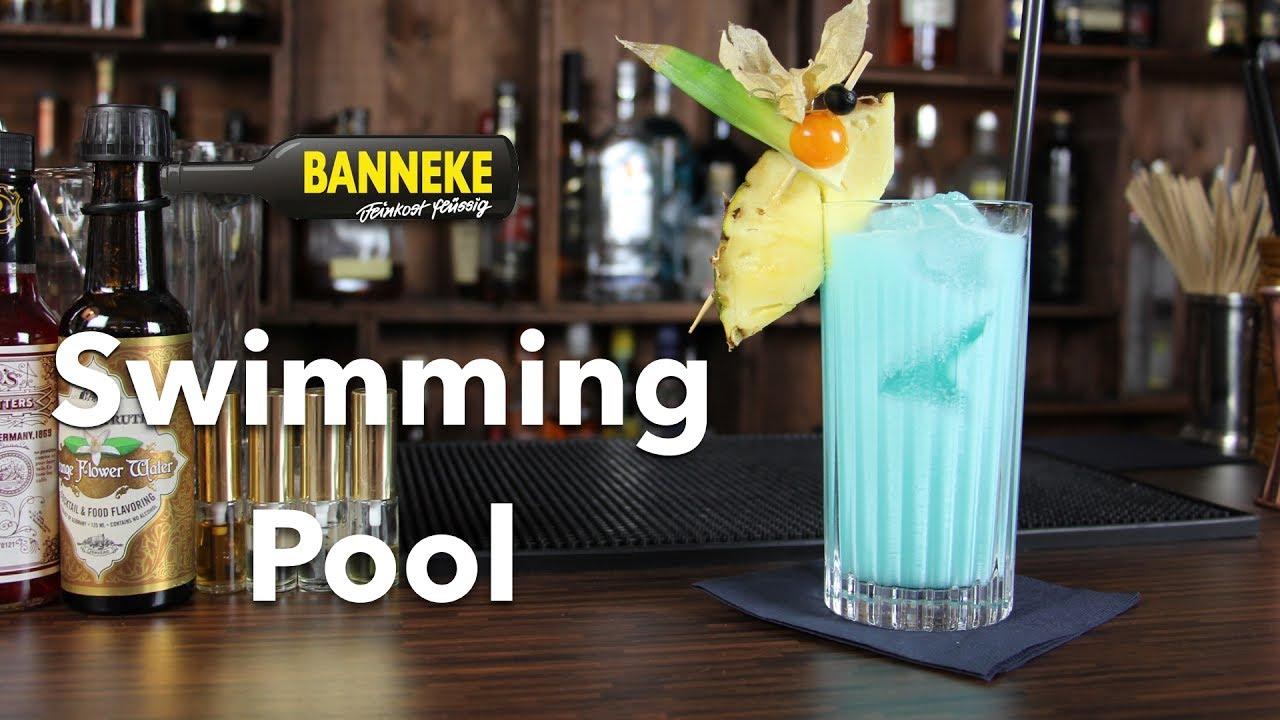Bezaubernd Longdrinks Klassiker Referenz Von Swimming Pool - Cocktail Selber Mixen -
