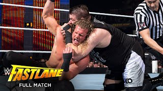 FULL MATCH - Kevin Owens vs. Dolph Ziggler - Intercontinental Title Match: WWE Fastlane 2016