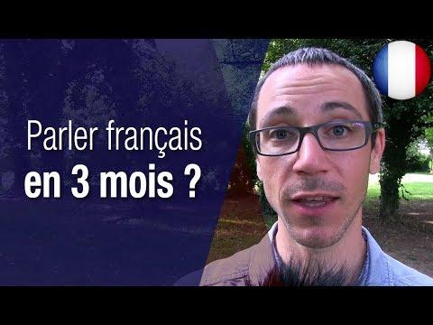 Comment mieux parler le français en moins de 3 mois
