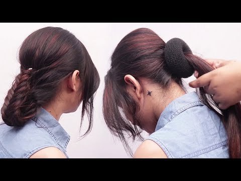 Latest Hairstyle For Parties | GoldenMannu | Simple Hairstyles | Easy Hairstyles | Latest Hairstyles