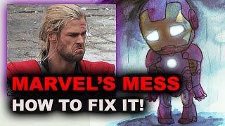 Marvel Civil War, Infinity War - Marvel Movies vs DC the REAL war?! - Beyond The Trailer