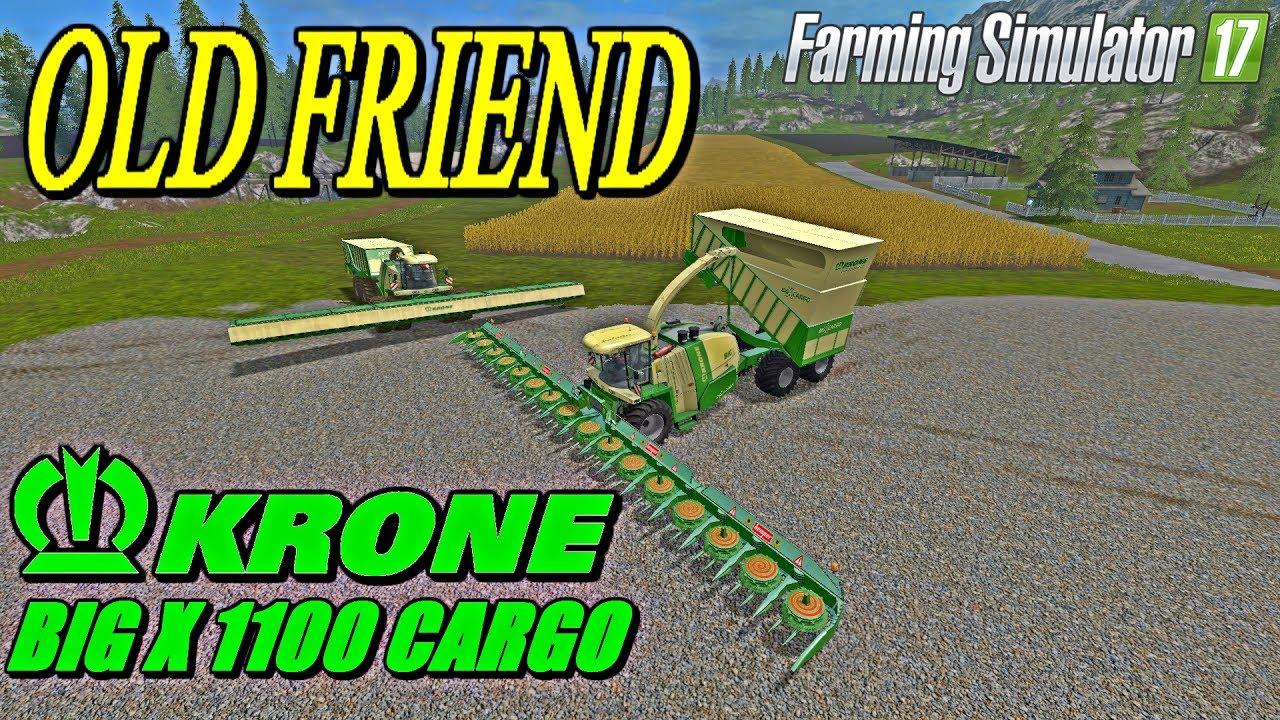 Farming Simulator 2017 Mods Krone Big X 1100 Cargo #1