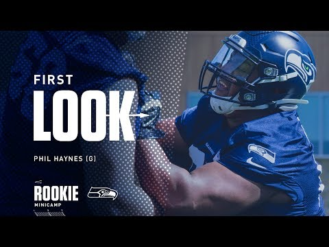 8f9cca4456c Seahawks First Look: Phil Haynes at Rookie Minicamp - YouTube